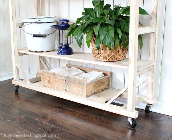 replica vintage shelving