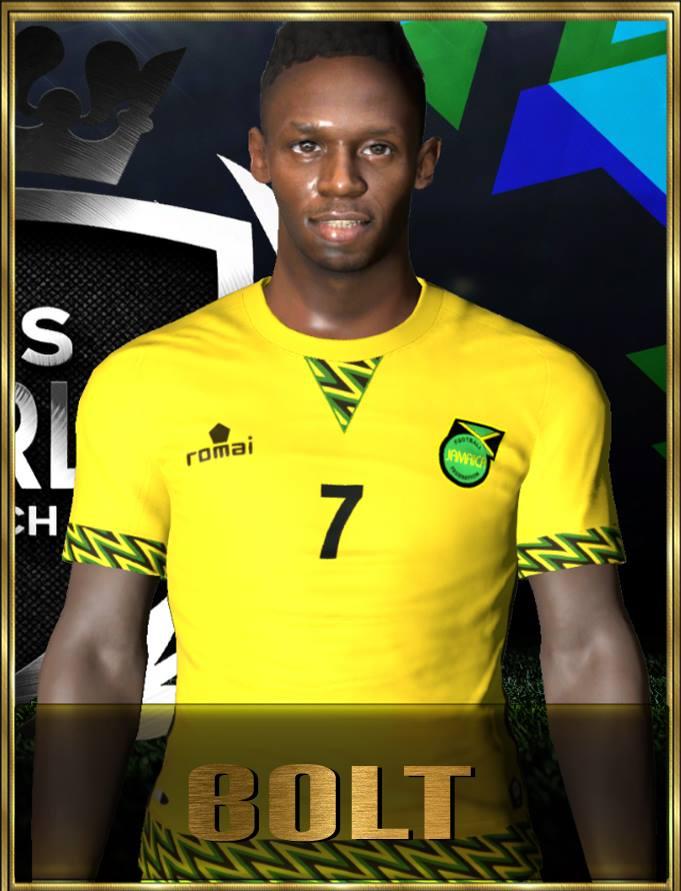 PES 2017 Usain Bolt Face by Robert Facemaker