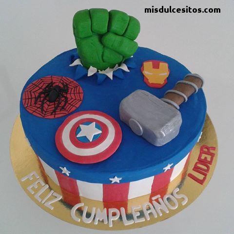 Tortas Avengers en Lima, Venta de tortas personalizadas en todo Lima