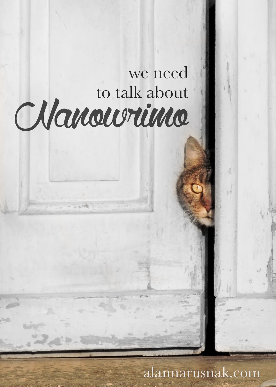 we need to talk about nanowrimo 2016