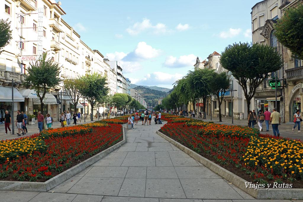 Avenida Liberdade, Braga, Portugal