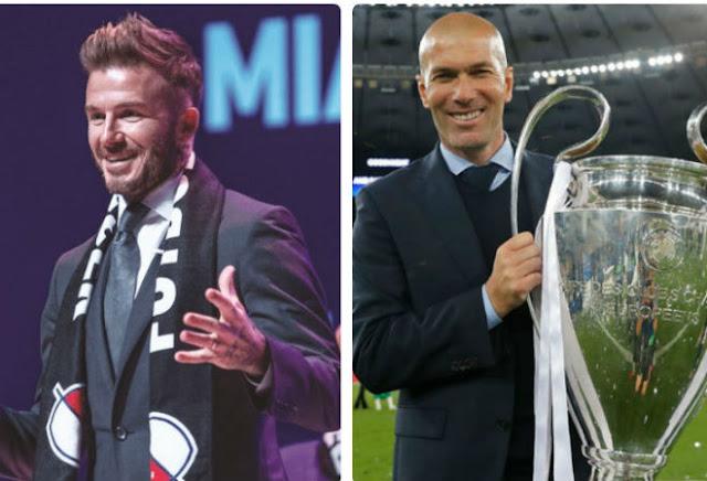 """Chấn động: Zidane """"lật kèo"""" MU, sang Mỹ xây siêu đội hình cùng Beckham 1"""
