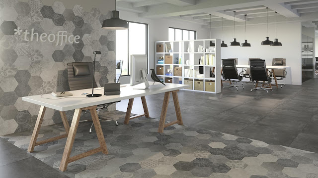 Home tiles design of Foster series - Structures with spirit