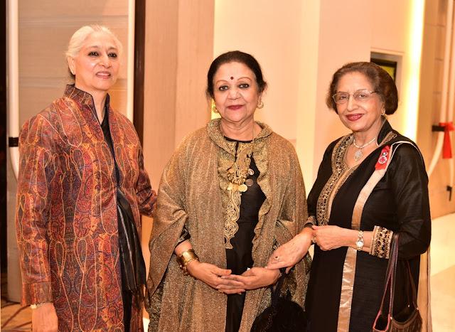 Sarita Dosaj, Sushi and Pratibha Chandra-