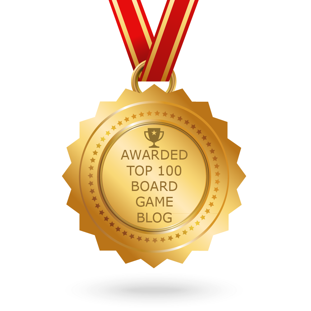 Awarded Top 100 Board Game Blog