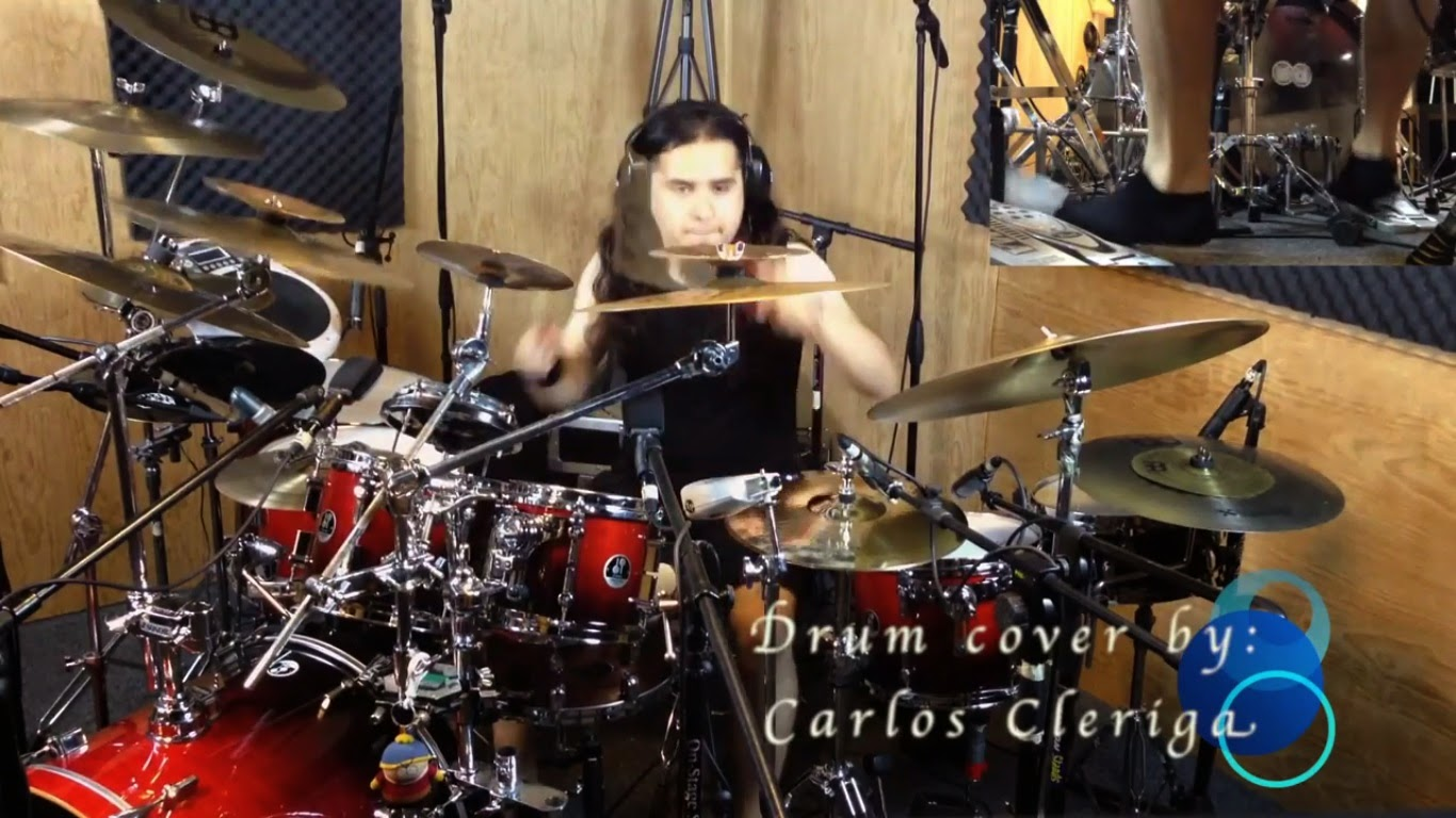 El drum cover de Drum Mx: Agora