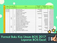 Format Buku Kas Umum BOS 2017 Laporan BOS Excel