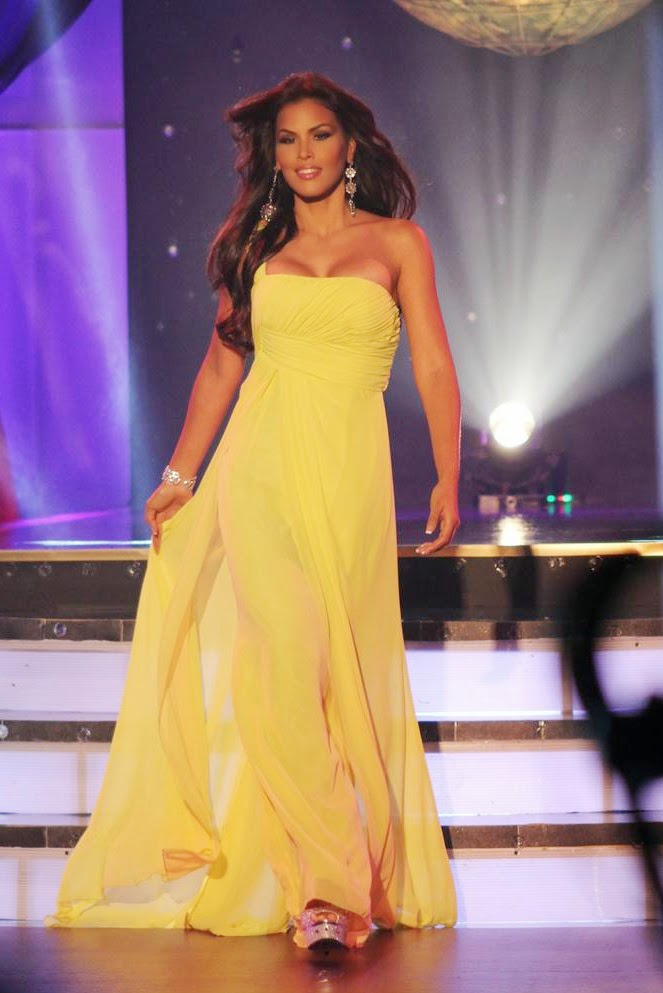 c669a59fc5 More Gowns...One Shoulder Mint Green and Canary Yellow--these two gowns  were also featured during the