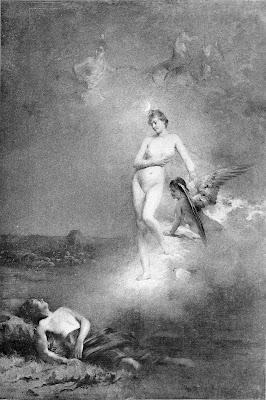 Diane et Endymion by Émile Louis Foubert