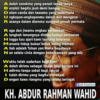 Presiden Abdur Rahman Wahid
