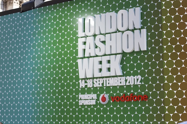 London Fashion Week Diary S/S13 : Day 1