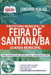 Download Apostila Concurso Prefeitura de Feira de Santana 2018 PDF