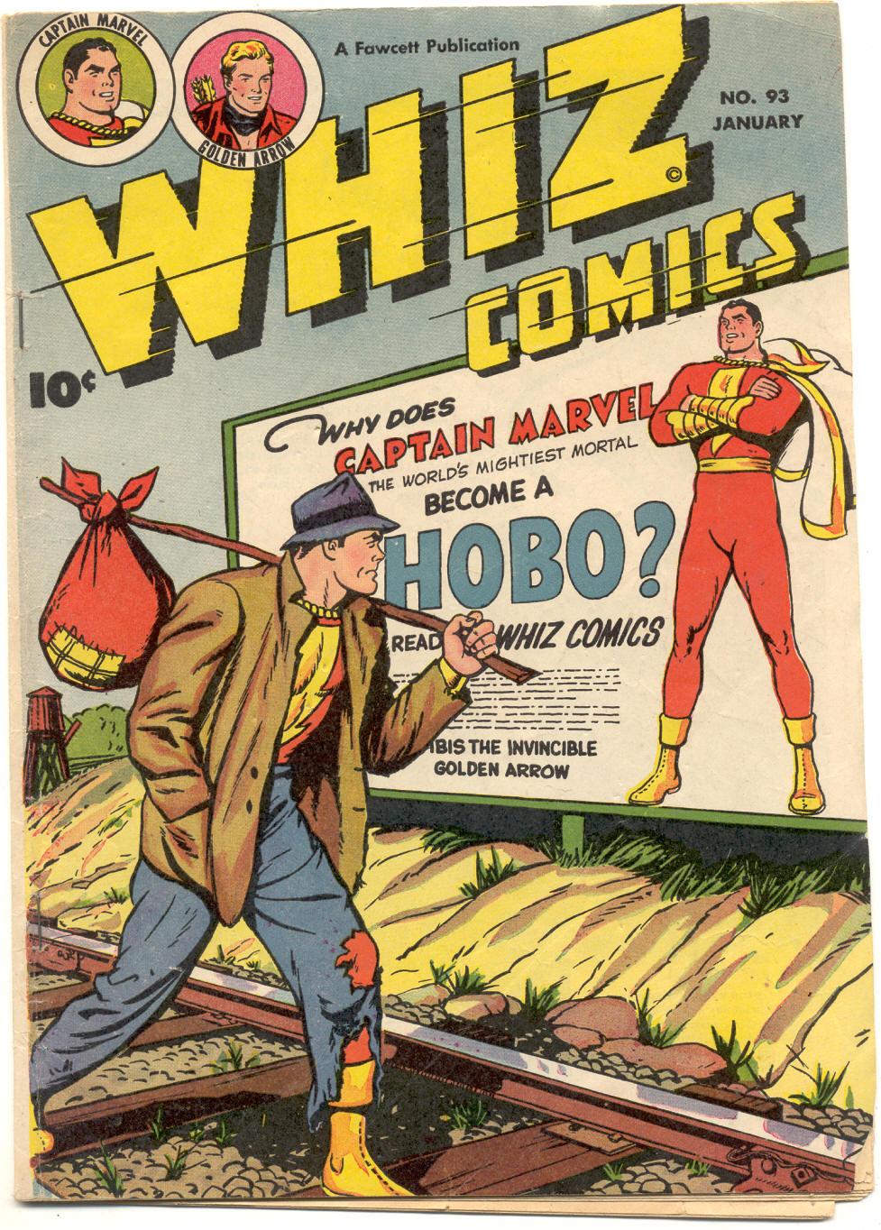 WHIZ Comics 93 Page 1