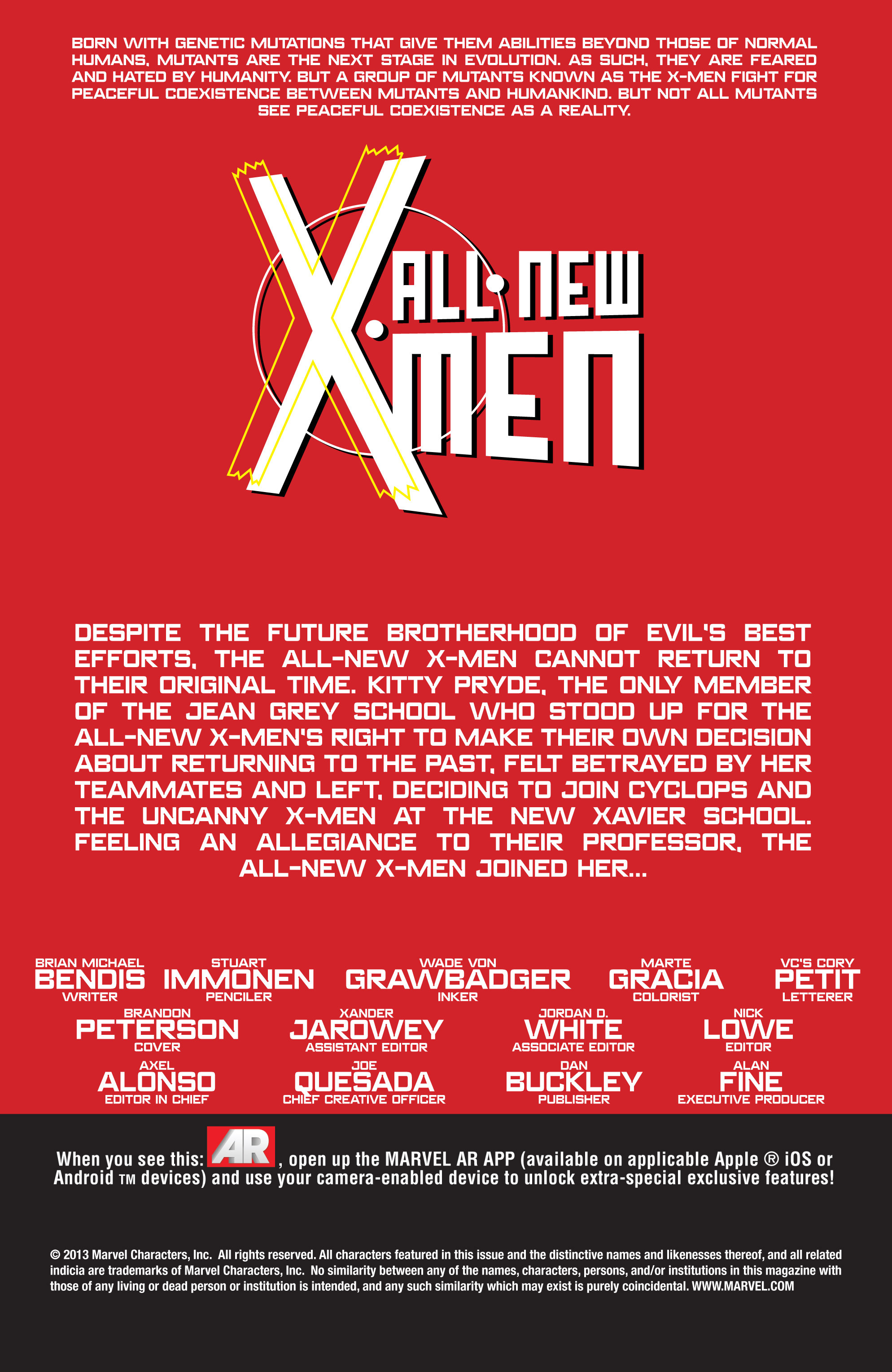 Read online All-New X-Men (2013) comic -  Issue # _Special - All-Different - 4