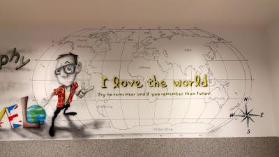 Malowanie klasy szkolnej, Aranżacja ścian w klasie lekcyjnej, jak, pomalować ściany w klasie szkolnej? ciekawy pomysł na zagospodarowanie ścian do szkoły