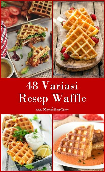 48 Variasi Resep Waffle
