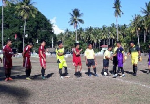 Wabup, Tutup Resmi Barugaia Cup II 2018, Bandara FC Juara I