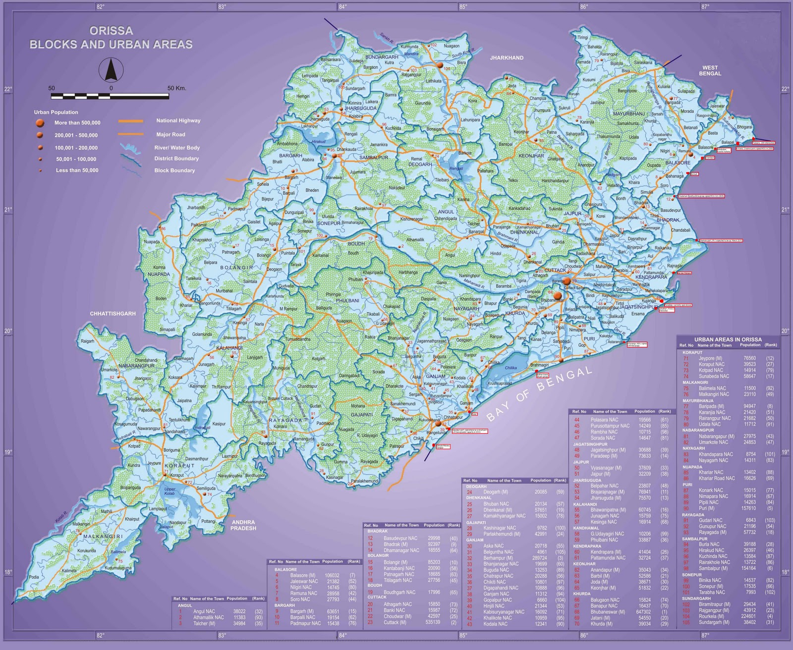 My State Map.Information About Odisha District Of Orissa My State And Culture Map