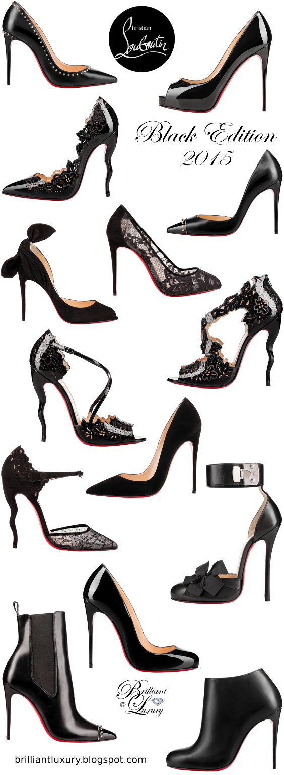 Brilliant Luxury ♦ Christian Louboutin Black Edition 2015