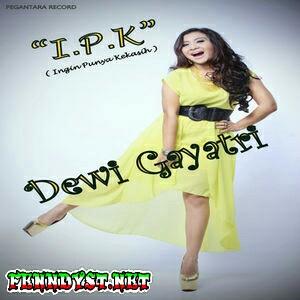 Dewi Gayatri - I.P.K (Ingin Punya Kekasih) 2014 Album cover