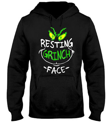 Resting Grinch Face T-Shirts Hoodie