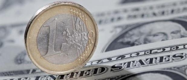 Euro sigue bajando