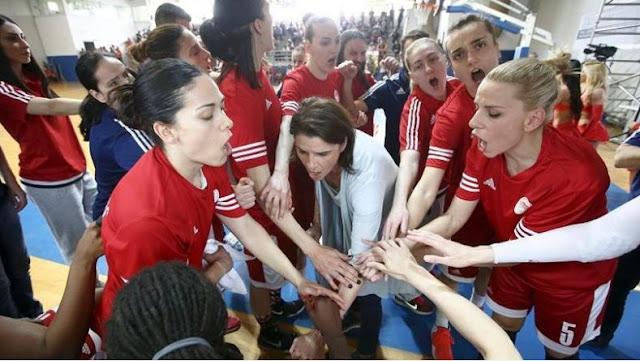 Back to back νταμπλ με... σκούπα για τον Ολυμπιακό στην Α1 Γυναικών
