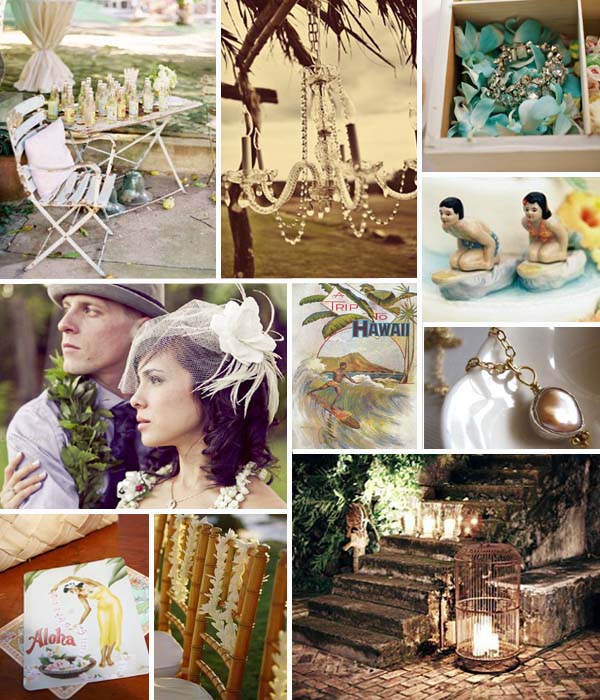 Vintage Prints Antiqued Decor Pieces And Touches Of Crystal Contrasting Against The Natural Lushness I Took My Inspiration From Hawaii But Think
