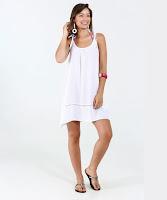 Modelo Vestido Feminino Saída de Praia Marisa
