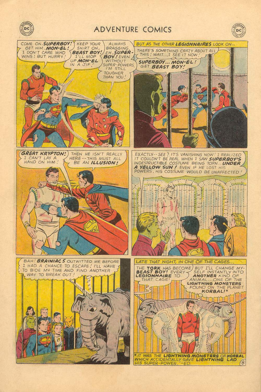 Read online Adventure Comics (1938) comic -  Issue #339 - 22