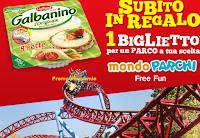 Logo Richiedi come premio sicuro un biglietto Mondo Parchi Free Fun