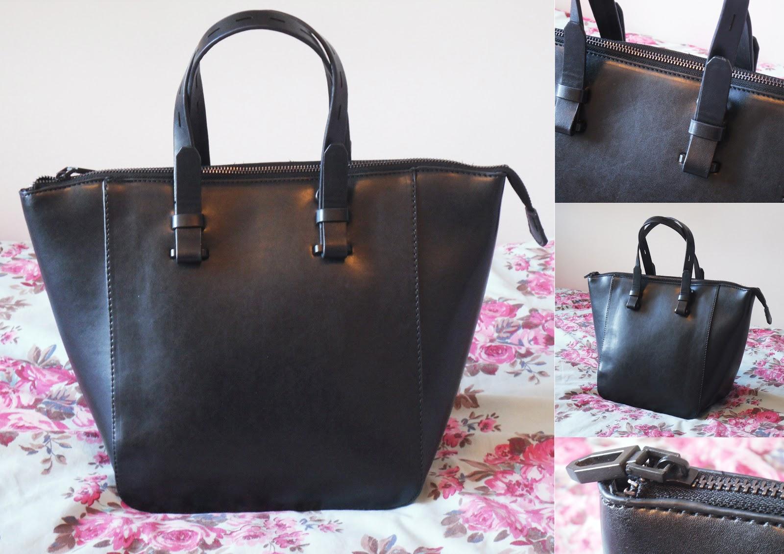 9fc4fccd40 Lizzies Style    ZARA MINI SHOPPER BAG