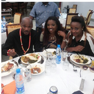 How 2face And Annie Idibia Stopped Time In Akwa-Ibom On