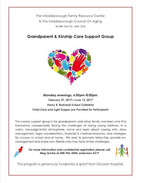 Middleborough Family Resource Center: **NEW** Grandparent