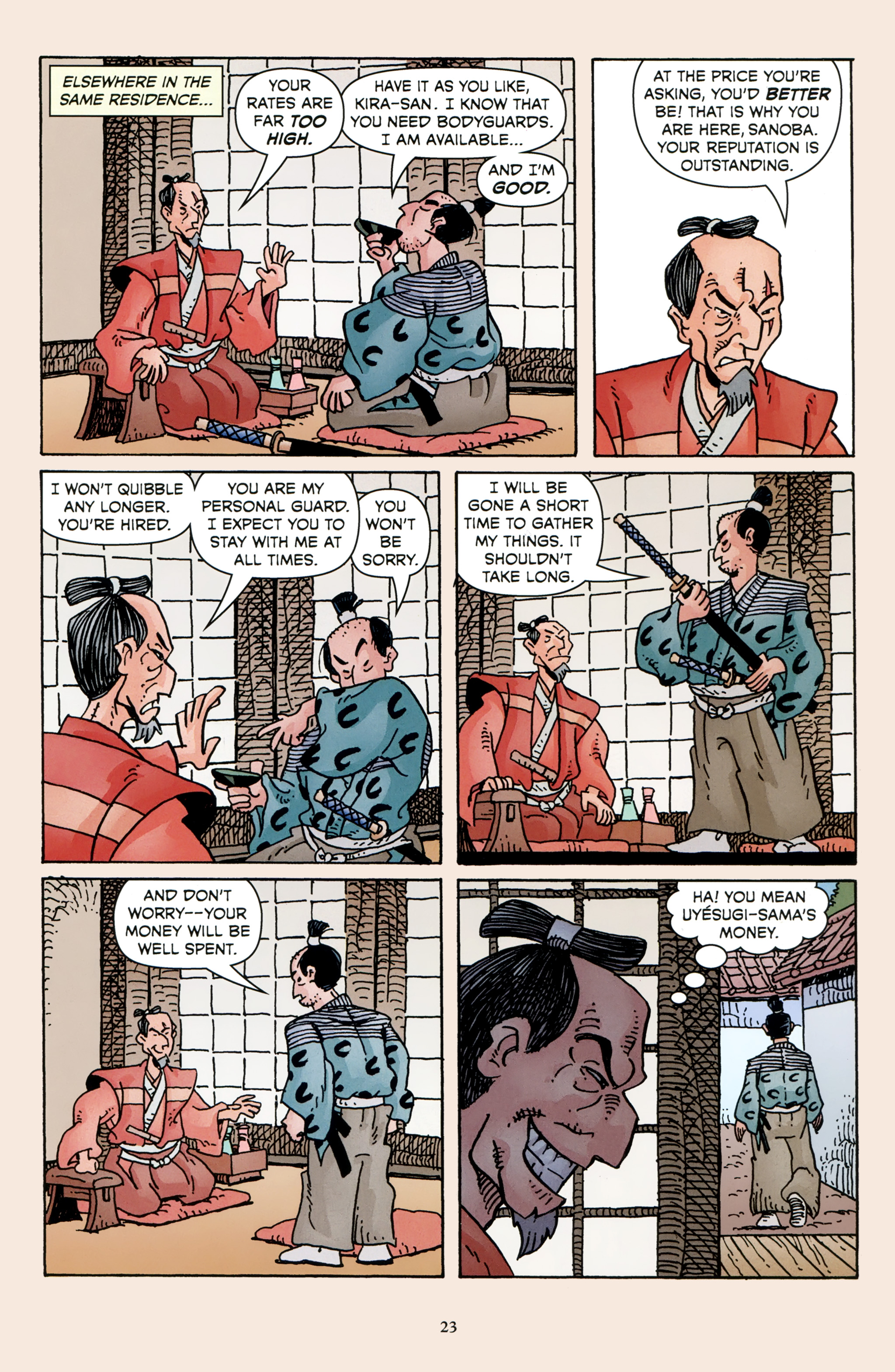 Read online 47 Ronin comic -  Issue #3 - 25