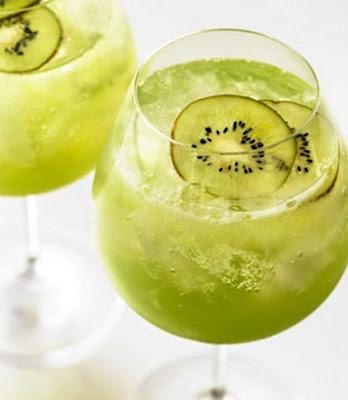 عصير الكيوي و الليمون