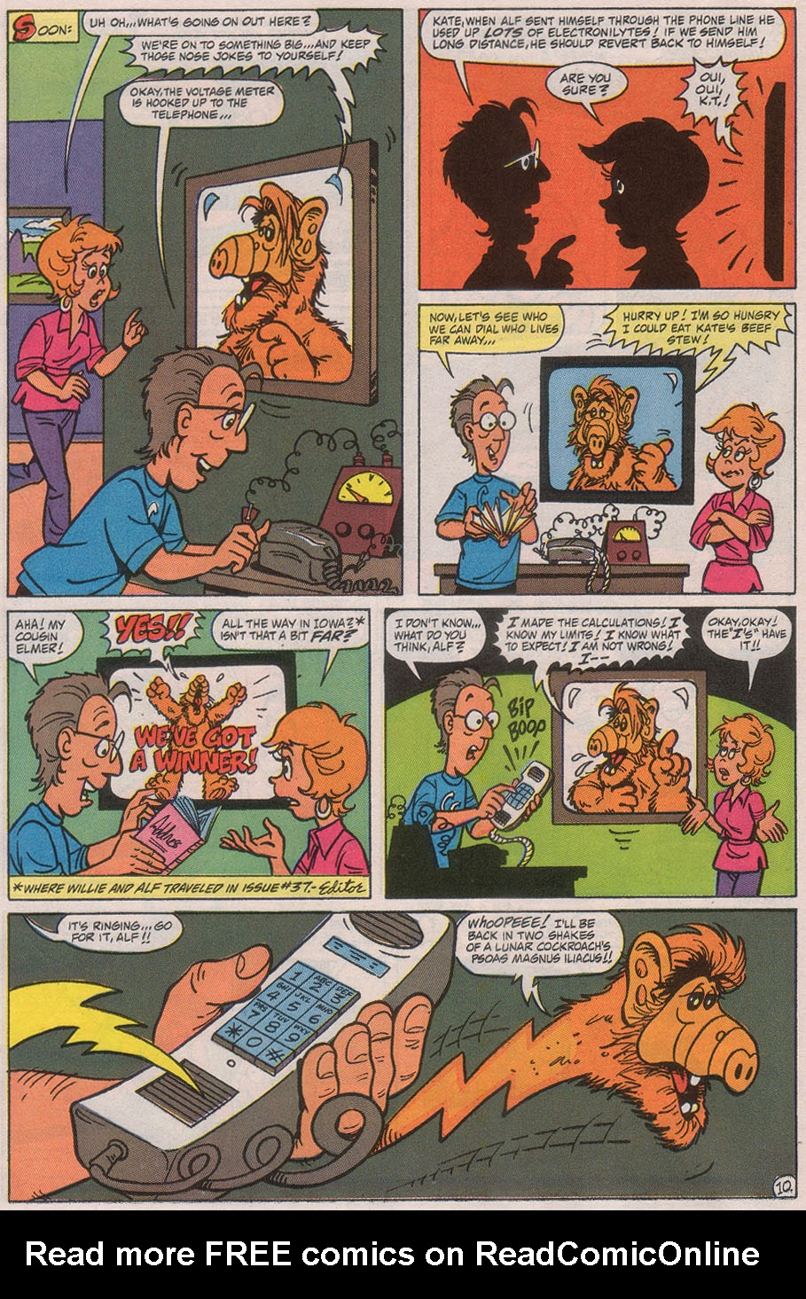 Read online ALF comic -  Issue #41 - 16