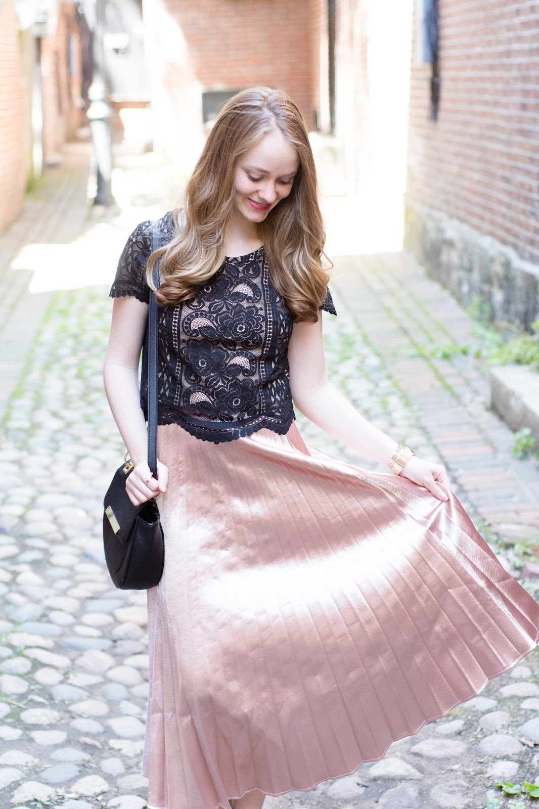 How to Style Pleated Maxi Skirts