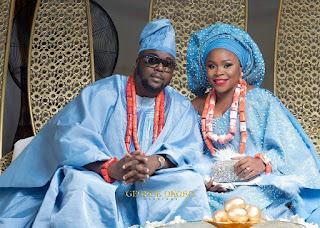 Photos From Singer, Omawunmi's Traditional Wedding In Warri