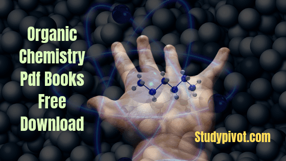 Organic Chemistry Books Pdf Download - Studypivot