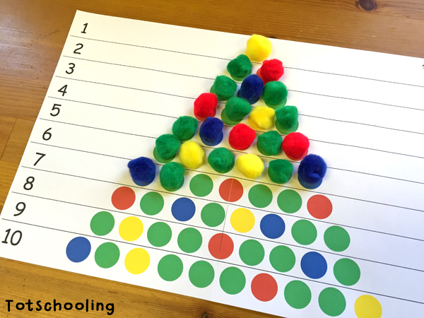 Christmas Tree Learning Activities For Toddlers Amp PreK