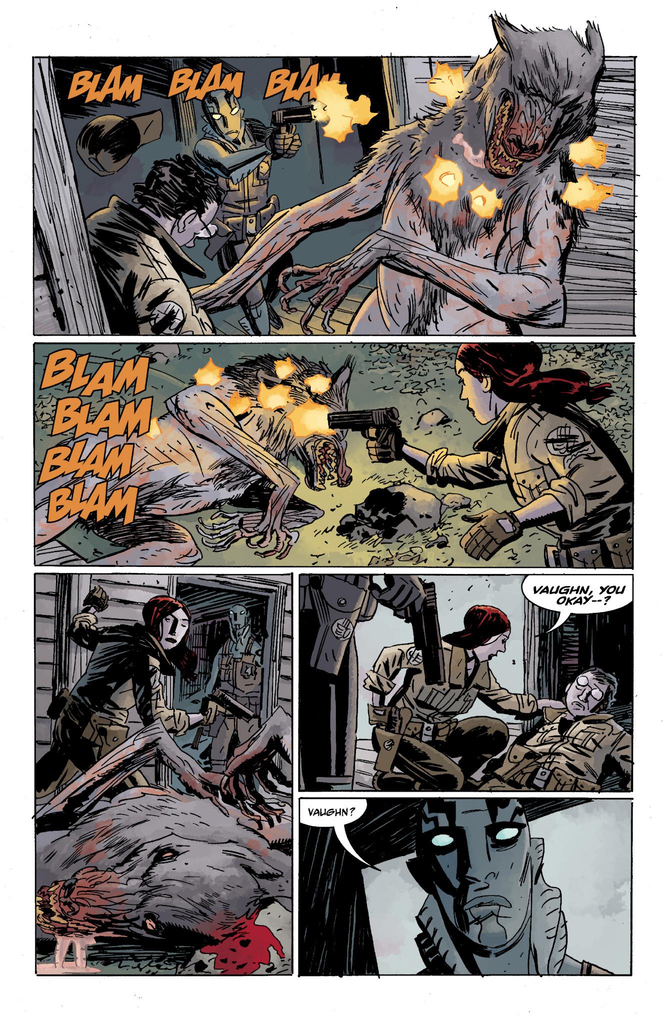 Read online Abe Sapien comic -  Issue #13 - 30