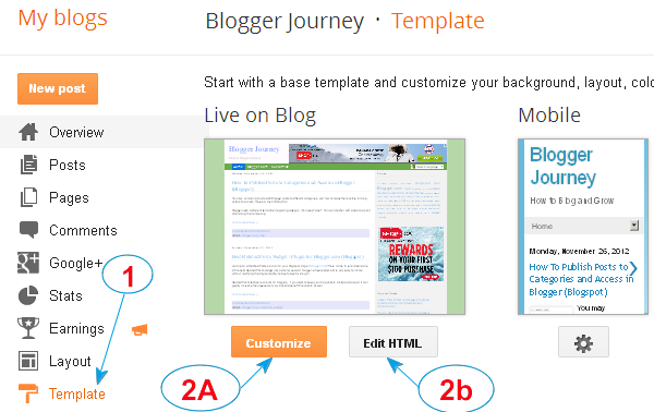 How / Where to Add Custom CSS to Blogspot on Blogger com