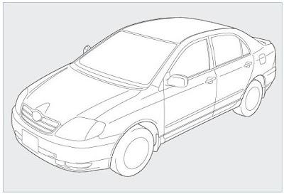 komposisi kendaraan mobil