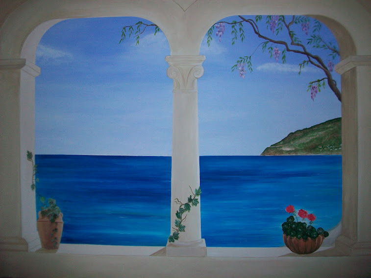 Affordable trompe luoeil finestra su alassio with decoratore d interni - Decoratore d interni ...