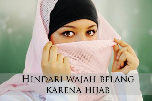 Tips Cara Cepat ALAMI MENGATASI KULIT WAJAH BELANG karena jilbab/panas