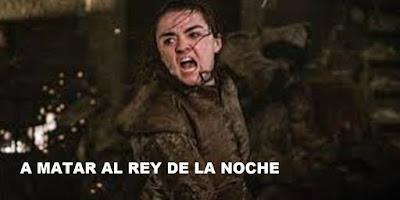 Arya Stark en Game of Thrones 8x03