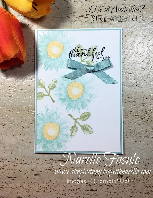 Painted Harvest - A gorgeous floral stamp set that creates the most amazing 3d look flowers - Simply Stamping with Narelle - get yours here - https://www3.stampinup.com/ecweb/default.aspx?dbwsdemoid=4008228