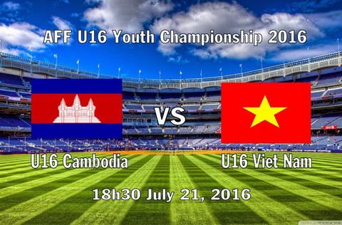 Live: Vietnam 1 - 0  Campuchia - AFF Cup Suzuki 2016