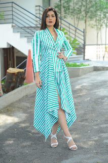 Actress Raashi Khanna New Stills at Venky Mama Movie Interview